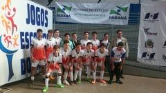 O colégio sagrou-se campeão dos jogos escolares - fase regional