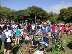 Colégio São Francisco Xavier Presente no Passeio Ciclistico